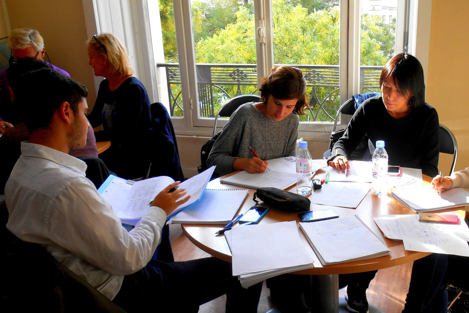 ACCORD Paris French Grammar and Writing Lessons